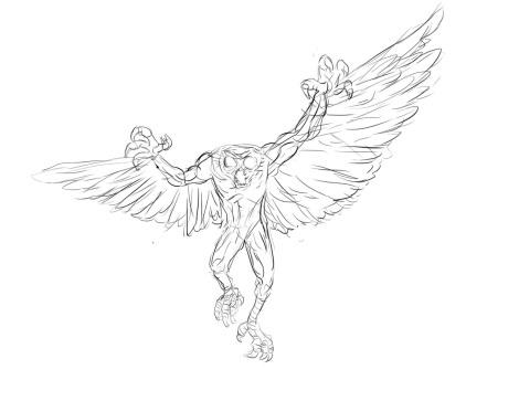 Owlman from Legend Trippers