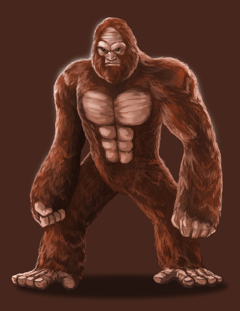 The Sasquatch patriarch, affectionately nicknamed Brutus