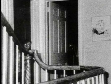 The photo of an alleged ghost from the Amityville haunting