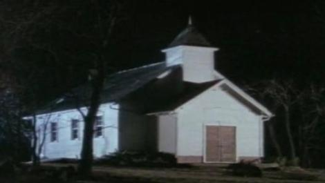 "A still from the Unsolved Mysteries episode ""The Lucky Choir."" How did pure chance save over a dozen lives?"